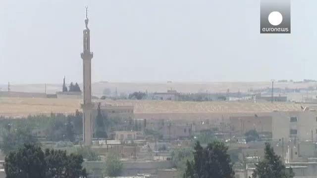 کردها و ارتش آزاد سوریه کنترل شهر تل ابیض را بدست گرفتن