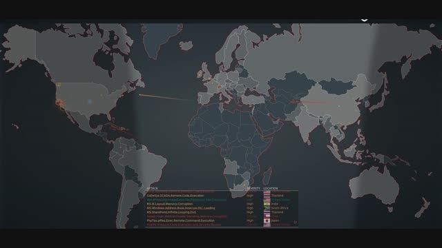 حملات زنده سایبری در همین لحظه 0_0