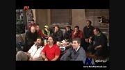 تماشای دربی همراه با ستارگان سینما و تلوزیون