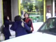 دعوای بد دختران تهرانی