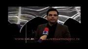 پشت صحنه برنامه ماه عسل ـ باشگاه خبرنگاران