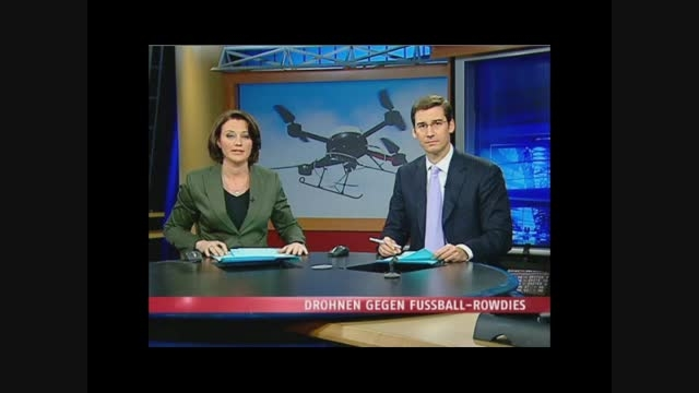 پهپاد : گزارش تلویزیونی از استفاده ی پلیس از پهپاد