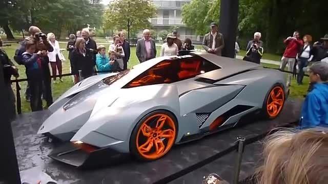 رونمایی از عجیب ترین خودروی لامبورگینی به نام Egoista