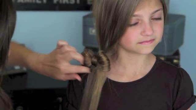 بافت مو دخترانه (7) _ 2015