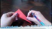 آموزش ساخت جاشمعی با کاغذ - شمع آرایی