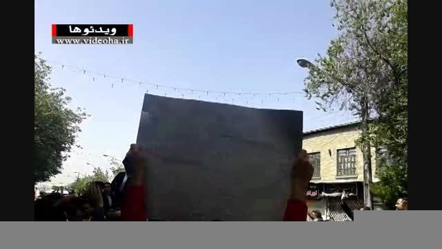 فیلم/ استقبال از روحانی در شیراز