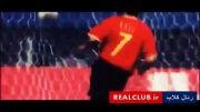 حرکات تکنیکی و دریبل های رائول گونزالس(3)