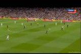 گل اول سوپرجام اسپانیا-رئال - بارسلونا
