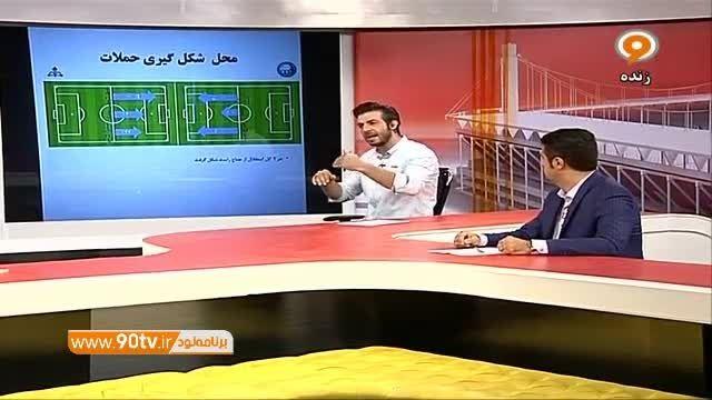 بررسی بازی استقلال و نفت با مهدی پاشازاده