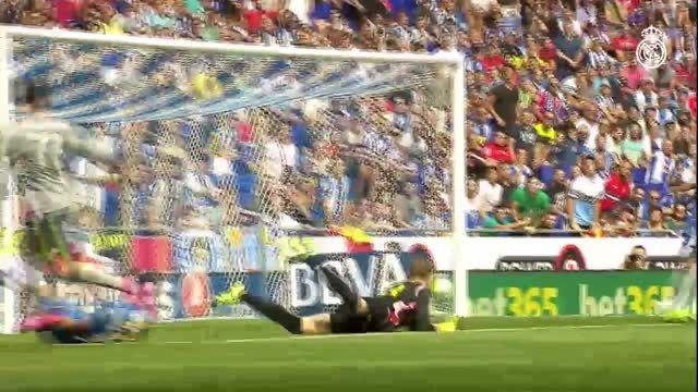 کریستیانو رونالدو برترین گلزن تاریخ رئال در لالیگا