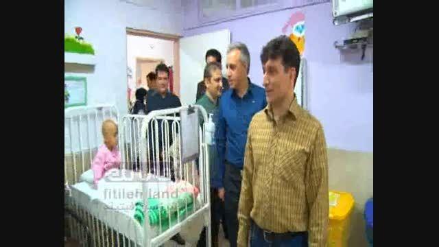 گزارش فیتیله ای - راهی کردن کودک بیمار به اتاق عمل
