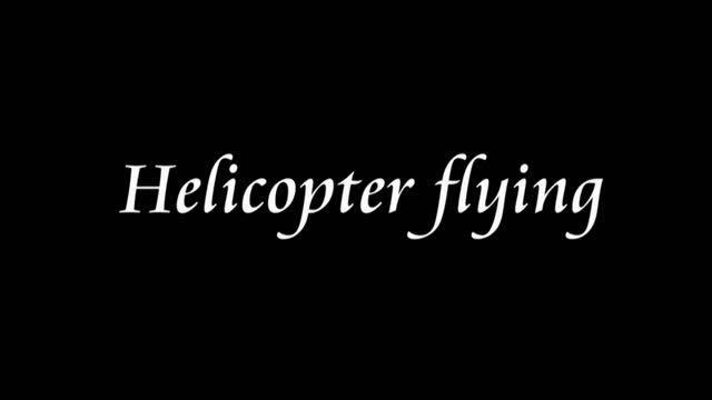 شبیه سازی واقعی پرواز هلیکوپتر(حتما ببینید.حجمی نداره)