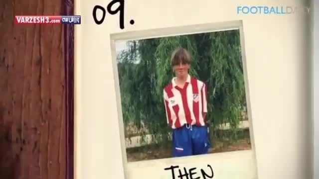 کودکی ۱۰ ستاره فوتبال جهان