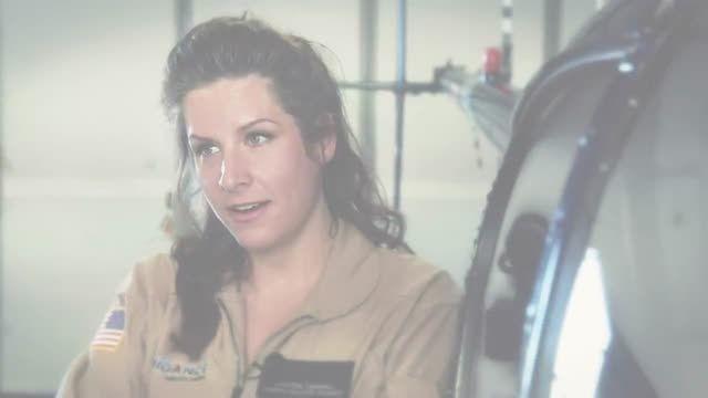 اشتغال خانم ها در حرفه خلبانی هلیکوپتر