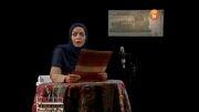 متن خوانی شبنم فرشاد جو و من بی تو ِ احسان خواجه امیری