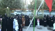 هیئت بیت الزهرا.کربلایی صادق احمدی.بازگشت ازکربلا91