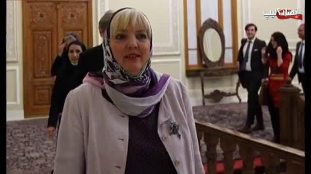 گستاخی نایب رئیس پارلمان آلمان در تهران!