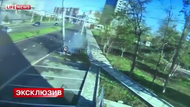 تصادف موتور سنگین در شیراز مسابقه موتور سنگین BMW و نیسان GTR