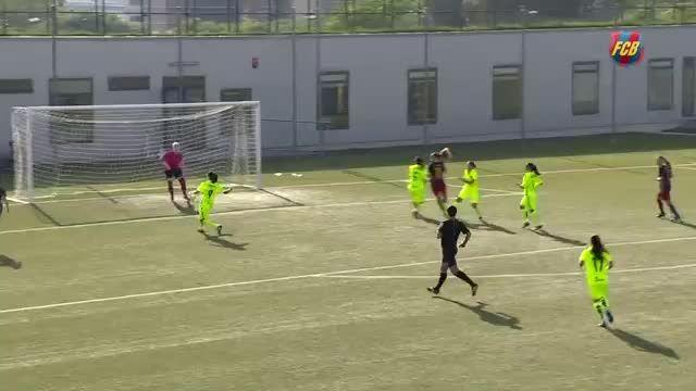هایلایت های بازی زنان بارسلونا 7 - 1 زنان Llevant