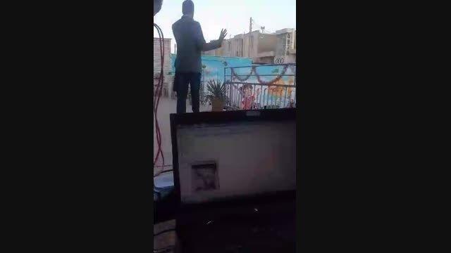 اجرای امیر خیرآبادی در دبیرستان امام رضا