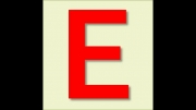 مثال برای حروف صدادار اینجه حرف E