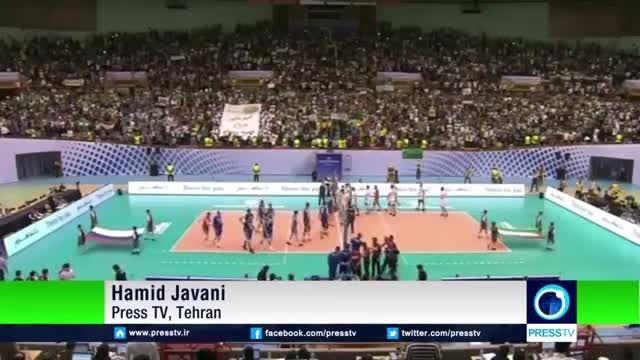 گزارش پرس تی وی از دیدار ایران و روسیه