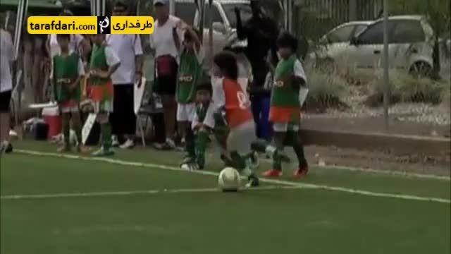 5 کودکی که استعداد فوق العاده ای در فوتبال دارند