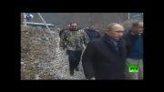 یک جانور نادر در آغوش رئیس جمهور روسیه ! + عکس و فیلم