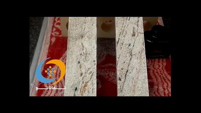 سنگ آنتیک آرت گل - آموزش نصب