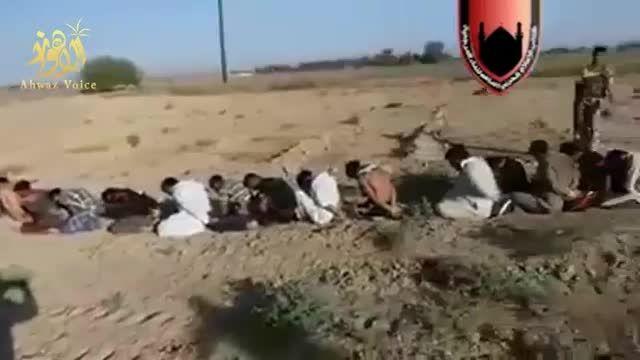 فیلم اسیر کردن بیش از 90 داعشی توسط نیروهای مردمی عراق