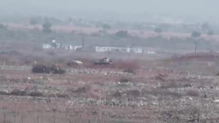 انهدام تانک های ارتش آل سقوط (عربستان)