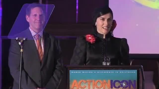مهسا احمدی برنده جایزه برترین بدلکار زن هالیوود