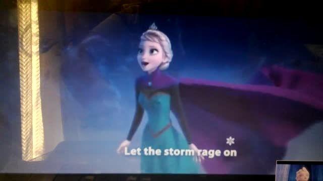 let it go رهایش کن ۲۶ ثانیه ای.     ( ساخت خودم )