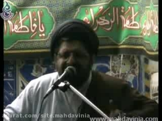 حجت الاسلام و المسلمین مهدوی نیا-روضه حضرت رقیه