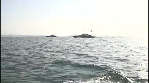 رزمایش پیامبر اعظم-9 ، شلیک موشک نصر از بالگرد و ساحل