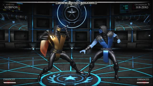 ُScorpion Vs SubZero