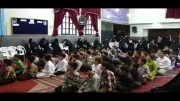 اجرای سرود دانش آموزان در جشن گرامیداشت روز معلم