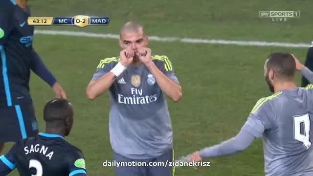 رئال مادرید 3 - 0 منچستر سیتی (گل په په) HD
