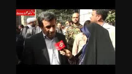 احمدی نژاد: تنها راه رسیدن به عزت ایستادگی و مقاومت است