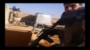 فیلم: درگیری مستقیم نیروهای ارتش عراق با داعش