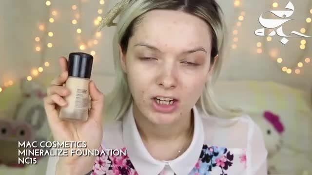 آموزش آرایش بهاری و پوشاندن آکنه های صورت