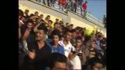 شادی هواداران تیم نفت مسجدسلیمان با ساز و دهل