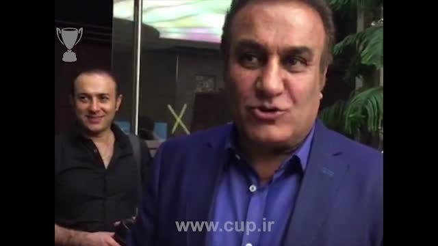 مراسم رونمایی از فیلم ناصر حجازی؛ ورود فرهاد کاظمی
