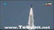 شلیک موشک زمین به زمین سجیل