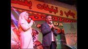 سودابه شادمان مجری با ناز و اصغر همت بازیگر مجبوب شیراز