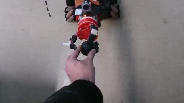 ساخت دست روبوتیک ارزان قیمت با پرینتر سه بعدی