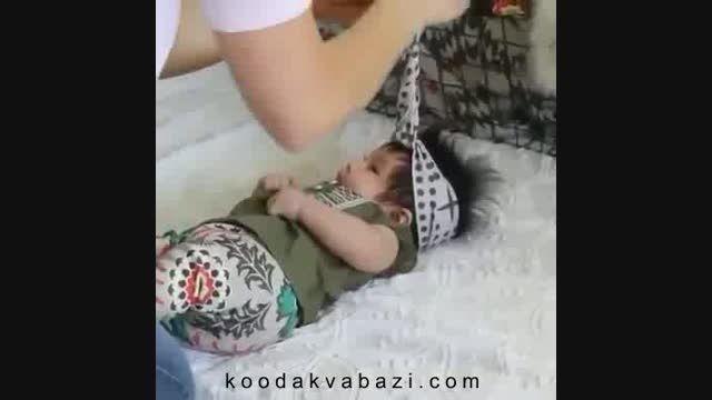 تل پارچه ای برای نوزاد