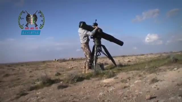 حمله تروریست های ارتش آزاد به مواضع ارتش سوریه