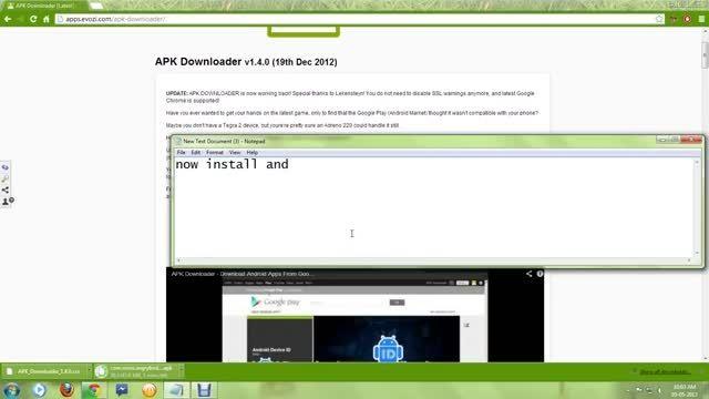 چگونگی دانلود نرم افزار از گوگل PlayStore با PC