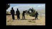 آتش زدن پرچم تکفیری های داعش توسط هکرها
